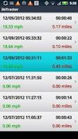 Screenshot of Run Tracker by 30 South
