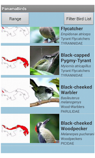 Panama Birds Field Guide- screenshot thumbnail