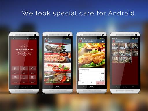 【免費程式庫與試用程式App】Restaurant App-APP點子