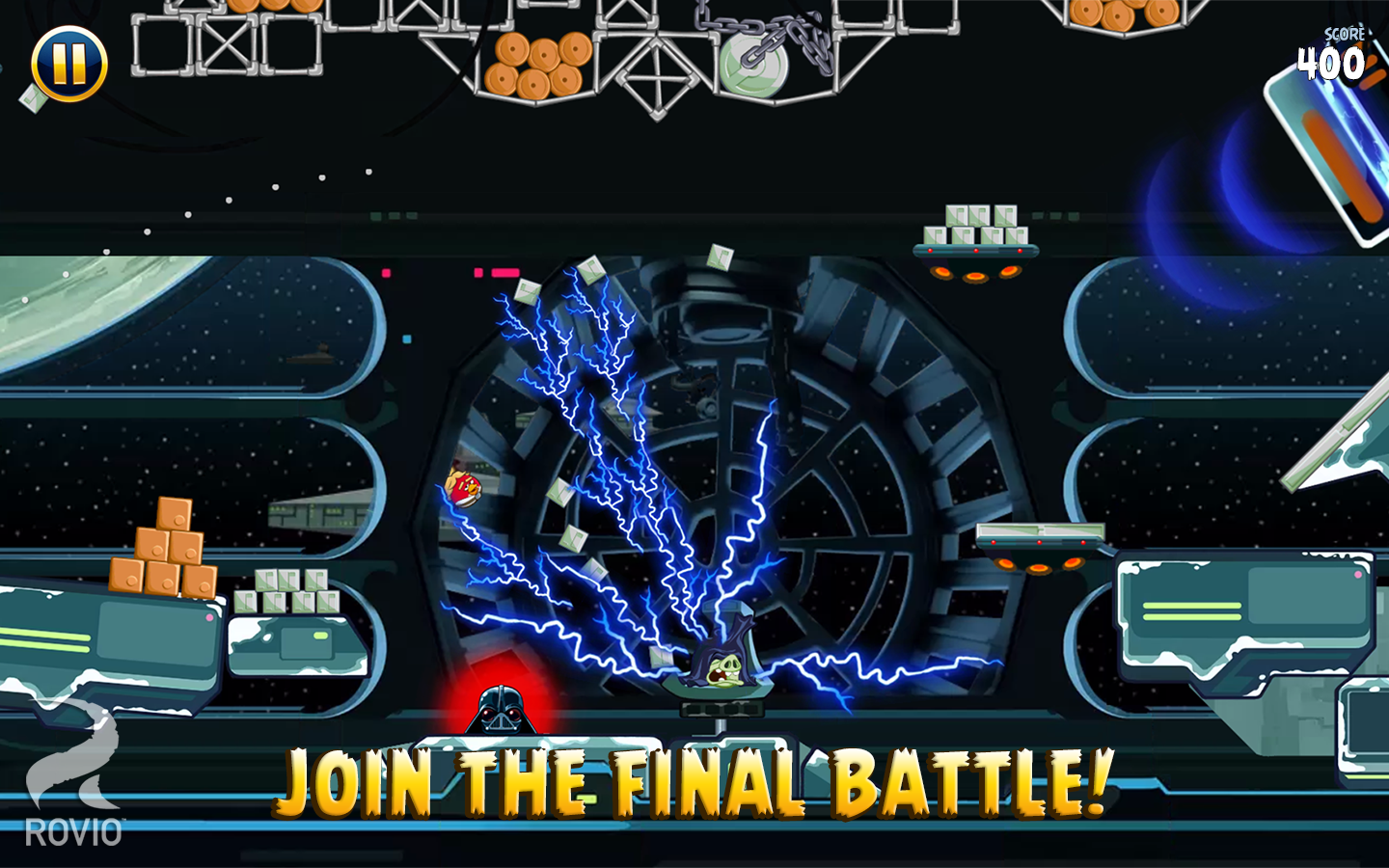 Angry Birds Star Wars - screenshot