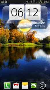 Free Weather Widgets - screenshot thumbnail