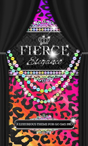 Luxury Theme ★Rainbow Leopard★