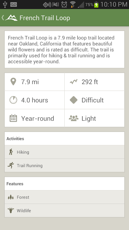 AllTrails - Hiking & Biking - screenshot