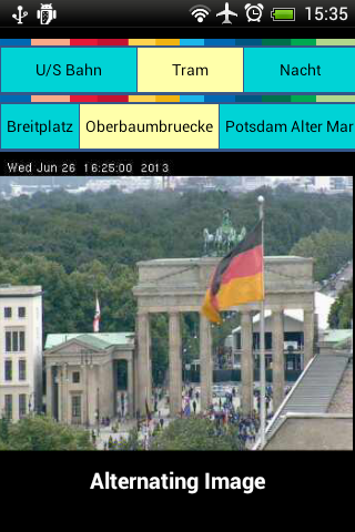 Berlin Cams & Maps - screenshot