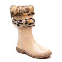 Step2wo Tiger 2 - Patent Fur Boot BOOT