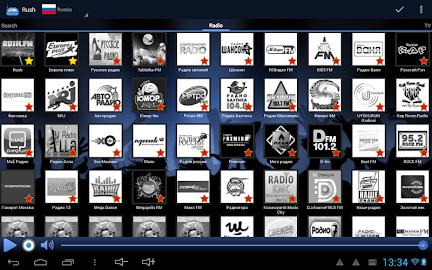 RUSH online radio and TV Screenshot 17