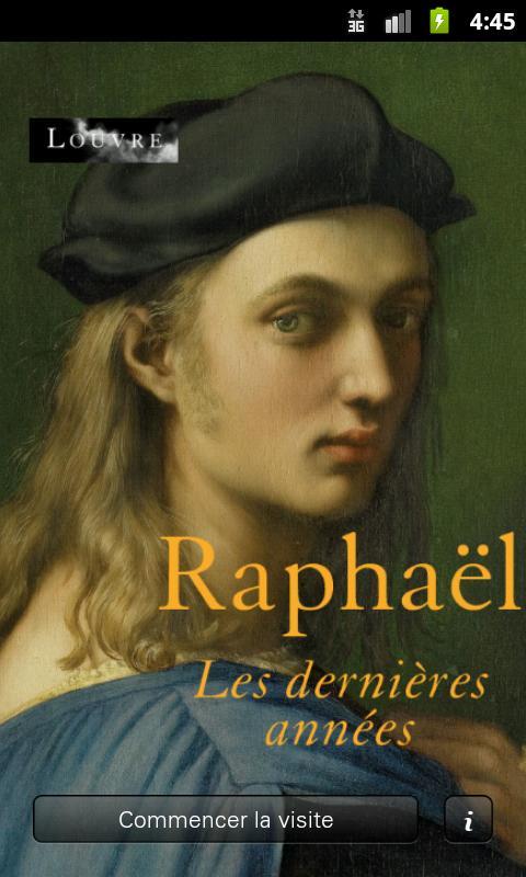 Raphaël, les dernières années– Capture d'écran