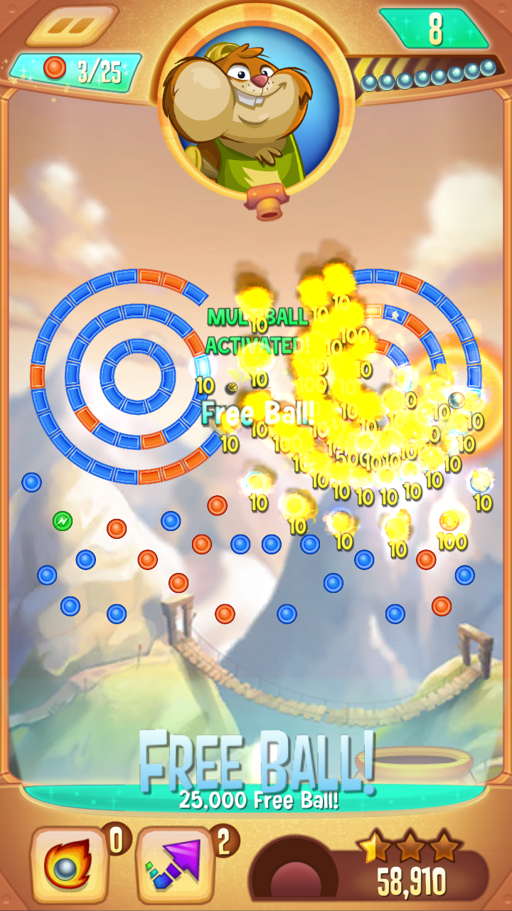 Peggle Blast screenshot #7
