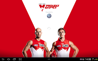 Screenshot of Sydney Swans Official App