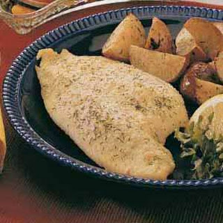 Baked Fish (perch, trout or whitefish)