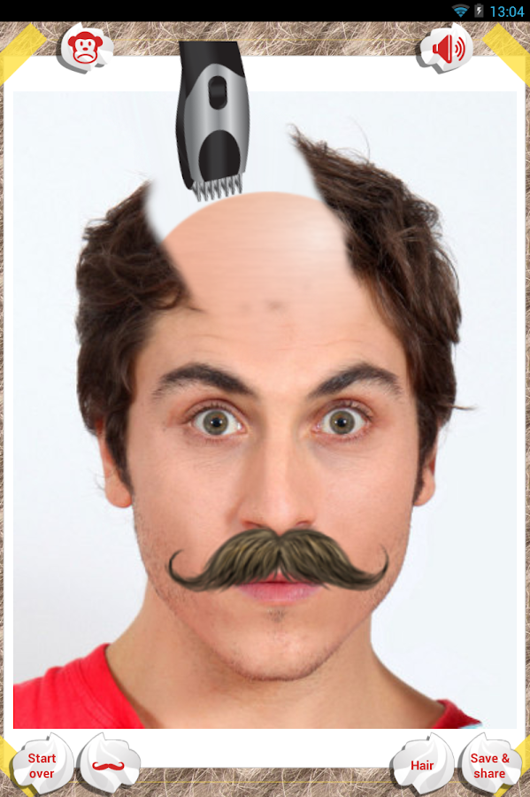 Groovy Make Me Bald Android Apps On Google Play Short Hairstyles Gunalazisus