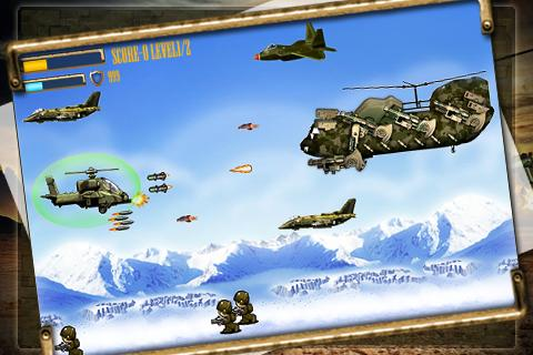 Apache Attack: Heli Arcade - screenshot