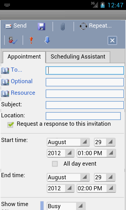 OWM for Outlook Email OWA- screenshot