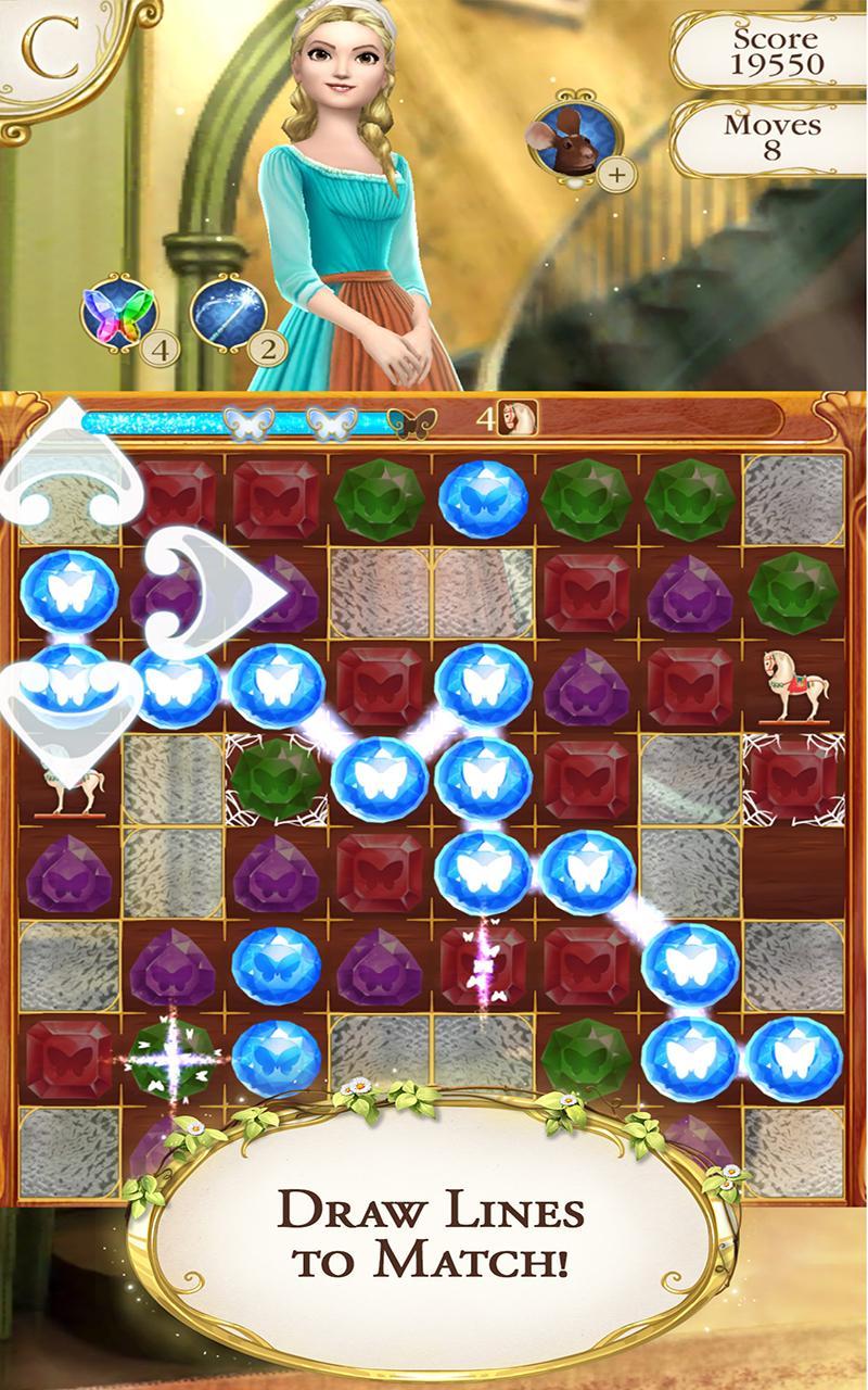 Cinderella Free Fall screenshot #8