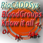 Blood Group Recipient finder icon