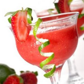 Strawberry Daiquiri Made with Vodka.
