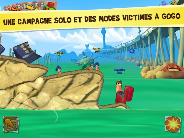 android Worms 3 Screenshot 2