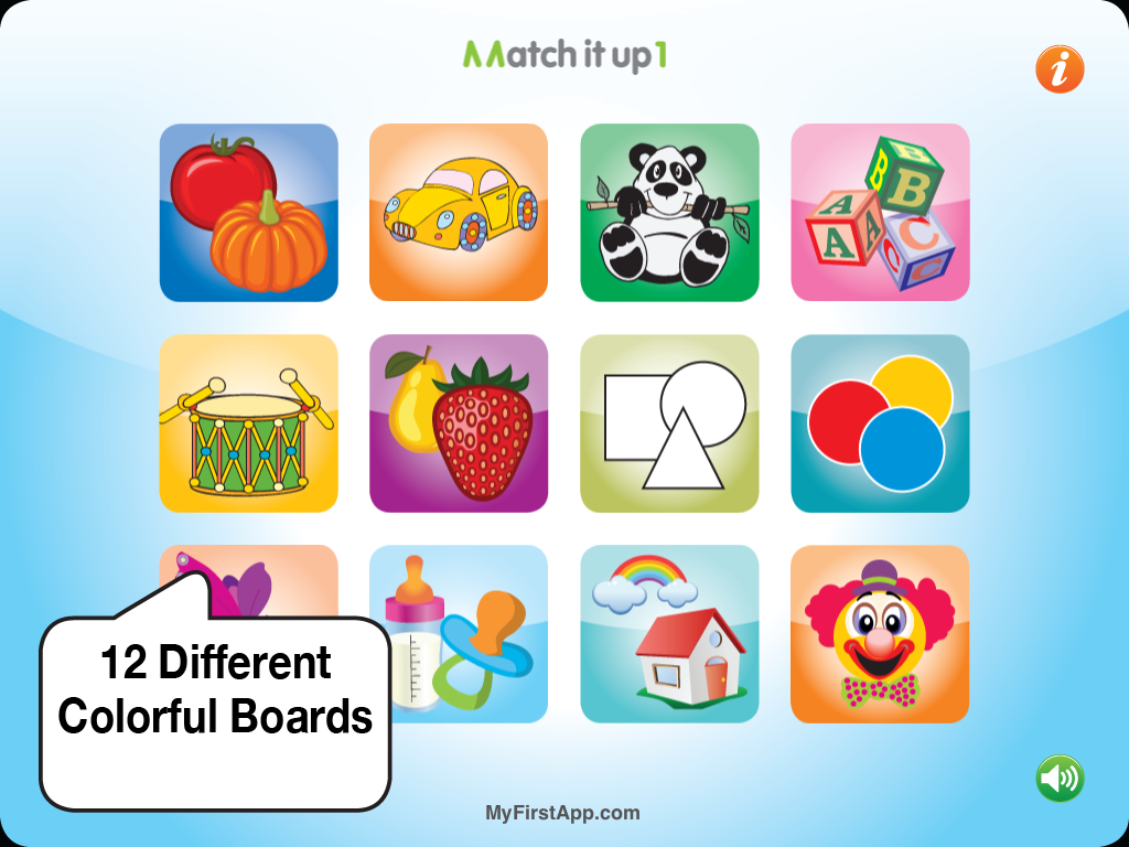 Match It Up 1 for babies- screenshot