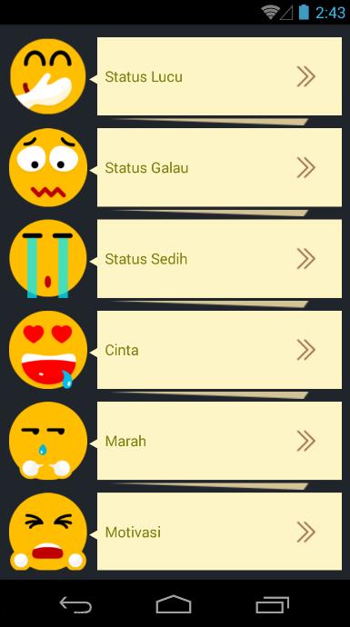 Update Status Keren - Apl Android di Google Play