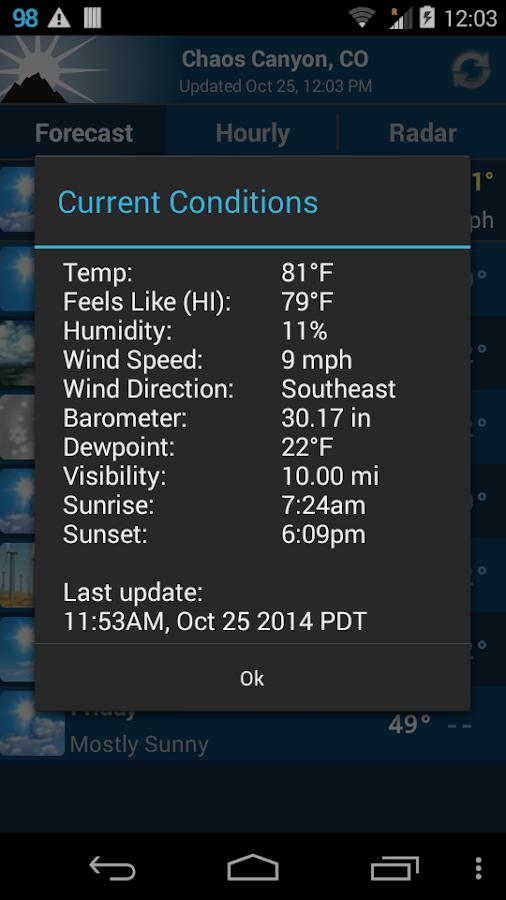 NOAA Weather Unofficial (Pro)- screenshot