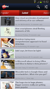 ZDNet Mobile- screenshot thumbnail