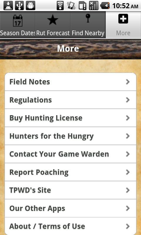 Texas Deer Hunting Guide Pro- screenshot