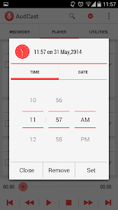 AudCast (Voice Recorder) screenshot 3