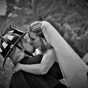 by Brittany Collins - Wedding Bride & Groom