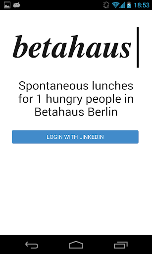 Betahaus lunch planner