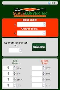 Model Scale Converter
