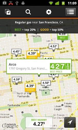 0 Gas Guru: Cheap gas prices App screenshot