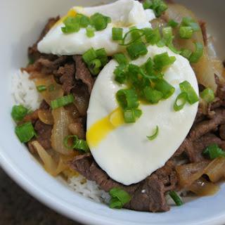 Gyudon – Japanese Beef Bowl