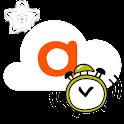 Timer alarm logo