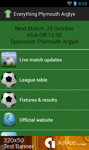 Everything Plymouth Argyle