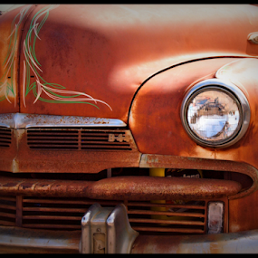 Rusty by Becky McGuire - Transportation Automobiles ( billy, car, mcguire, old, vintage, automobile, ratrod, retro, rock, havasu, tvlgoddess, arizona, auto, beck, ol, antique, classic, becky,  )