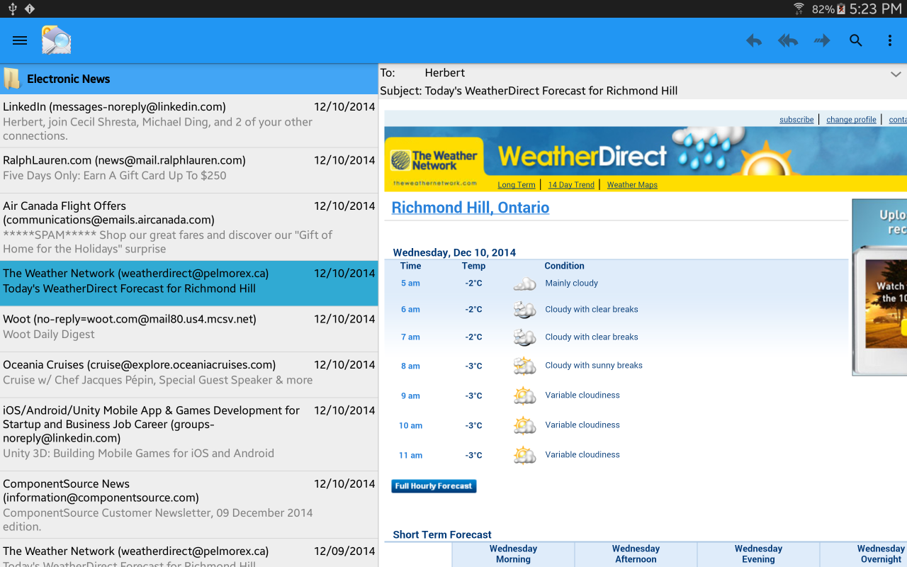 OlMail Reader and Exporter- screenshot