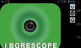 Screenshot of iBORESCOPE