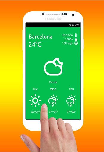 Weather Barcelona - Info Data