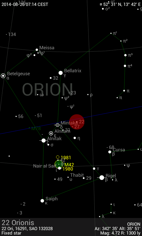 Sky Guide Android 1
