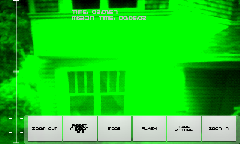 Night vision spy camera - screenshot