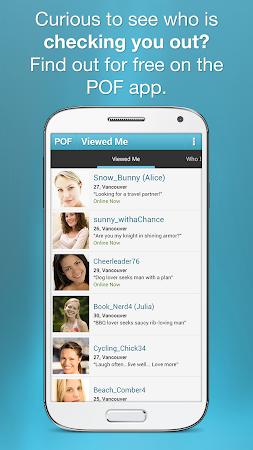 POF Free Dating App 3.19.0.1416178 screenshot 24644
