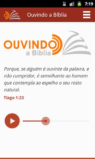Ouvindo a Bíblia