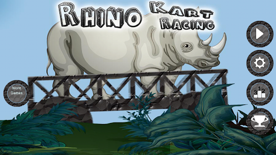 Rhino Kart Racing- screenshot thumbnail