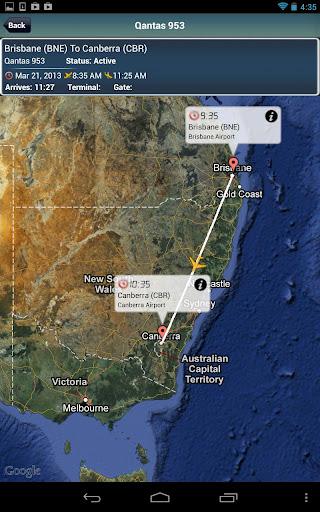 Canberra Airport + Radar CBR
