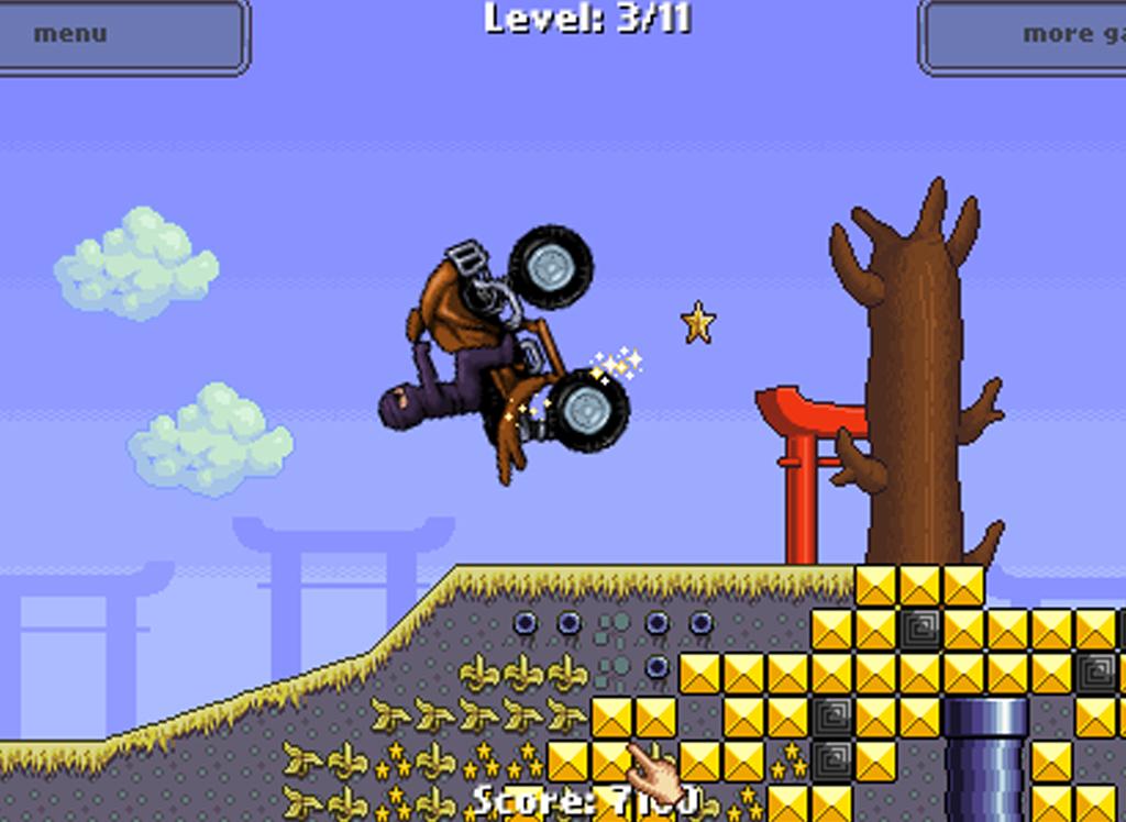 Ninja Hill Climb Racing - screenshot