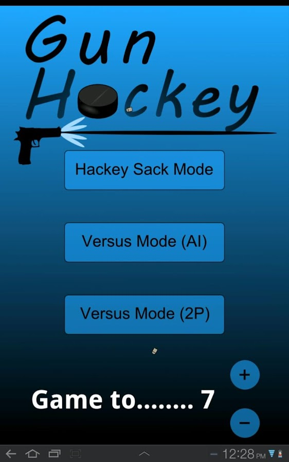 Gun Hockey- screenshot