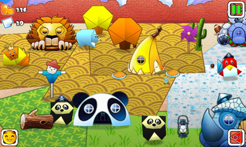 Mr Shingu's Paper Zoo - screenshot