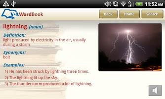 Screenshot of VoA Mobile Wordbook