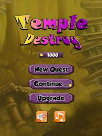 Destroy the Temple Captura de pantalla 9