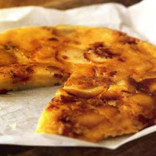 Potato Pancake with Cheese and Bacon | La Truffade Recipe